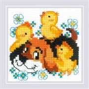 RIOLIS Best Friends Cross Stitch Kit