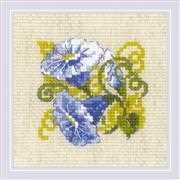 RIOLIS Purple Bindweed Cross Stitch Kit