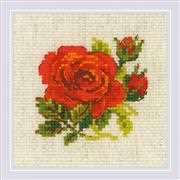 Red Rose - RIOLIS Cross Stitch Kit