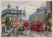 Merejka London Christmas Cross Stitch Kit