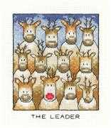 Heritage The Leader Christmas Cross Stitch Kit
