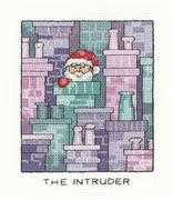 Heritage The Intruder Christmas Cross Stitch Kit