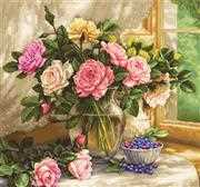 Still Life with Blueberries - Luca-S Cross Stitch Kit