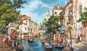 Luca-S The Streets of San Polo Petit Point Kit Tapestry Kit