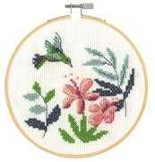 Exotic Flowers Starter - DMC Cross Stitch Kit