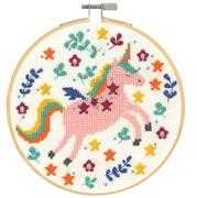 DMC Unicorn Cross Stitch Kit
