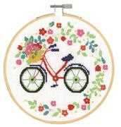 DMC Bicycle Cross Stitch Kit