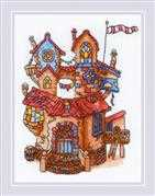 RIOLIS Fairy Tale House Cross Stitch Kit