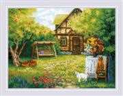 RIOLIS Country House Cross Stitch Kit