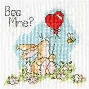 Bothy Threads Bee Mine? Card Cross Stitch Kit