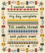 Bothy Threads Stitching Sampler Cross Stitch Kit