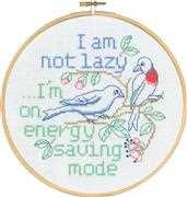 Cross stitch Permin Messages
