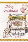 Dimensions Wedding Day Wedding Sampler Cross Stitch Kit