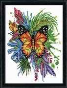 Design Works Crafts Butterfly Cross Stitch Kit