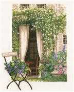 Lanarte Our Garden View Cross Stitch Kit
