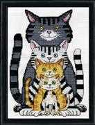 Cats - Design Works Crafts Cross Stitch Kit