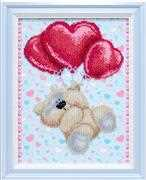VDV I Love You Wedding Sampler Embroidery Kit