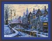Merejka Winter Evening Christmas Cross Stitch Kit