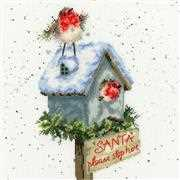 Bothy Threads Santa Please Stop Here Christmas Cross Stitch Kit