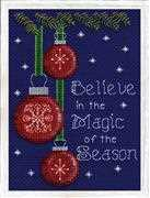 Design Works Crafts Believe Cross Stitch Kit