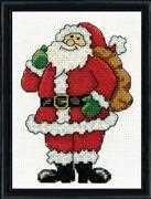 Design Works Crafts Santa Christmas Cross Stitch Kit