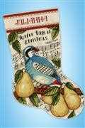 Design Works Crafts Partridge Stocking Cross Stitch Kit