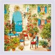 RIOLIS Southern Courtyard Cross Stitch Kit