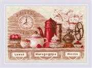 RIOLIS Coffee Time Cross Stitch Kit