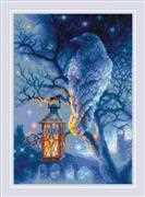 RIOLIS Wise Raven Cross Stitch Kit
