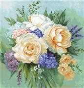 Luca-S Floral Bouquet Cross Stitch Kit