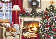 Luca-S Christmas Room Cross Stitch Kit