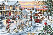 Luca-S Christmas Eve Cross Stitch Kit