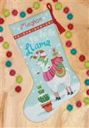 Dimensions Llama Stocking Cross Stitch Kit