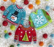 Dimensions Sweater Ornaments Craft Kit