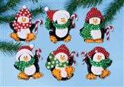 Design Works Crafts Penguin Ornaments Christmas Craft Kit