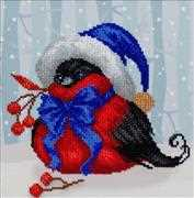 VDV Festive Bird Embroidery