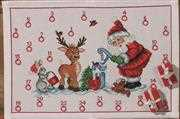 Permin Santa and Animals Advent Christmas Cross Stitch Kit