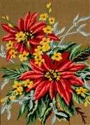 Gobelin-L Poinsettias Tapestry Canvas