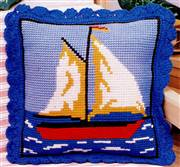 Gobelin-L Sail Boat Cushion Cross Stitch Kit
