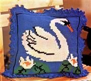 Gobelin-L White Swan Cushion Cross Stitch Kit