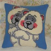 Gobelin-L White Bears Cushion Cross Stitch Kit
