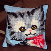 Gobelin-L Kitten Cushion Cross Stitch