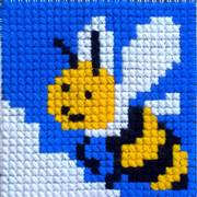 Gobelin-L Honey Bee Cross Stitch Kit