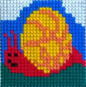 Gobelin-L Snail Cross Stitch Kit