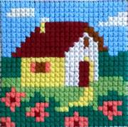 Gobelin-L Farmhouse Cross Stitch Kit