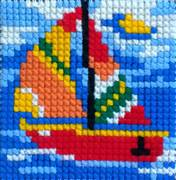 Gobelin-L Sail Boat Cross Stitch Kit