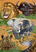 Gobelin-L Animals of Africa Tapestry Canvas
