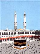Gobelin-L The Kaaba Tapestry Canvas
