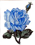 Gobelin-L Blue Rose Tapestry Canvas