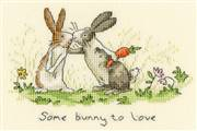 Bothy Threads Some Bunny To Love Cross Stitch Kit